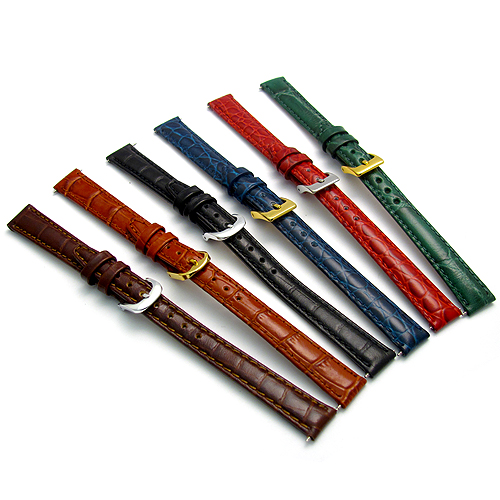 Men's Leather Watch Strap Suede Finish WatchWatchWatch